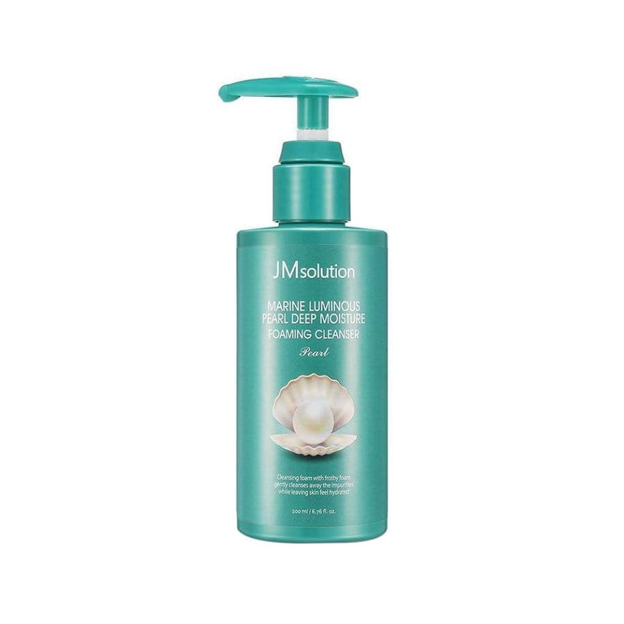 JMSOLUTION Marine Luminous Pearl Deep Moisture Foaming Cleanser - lamisebeauty