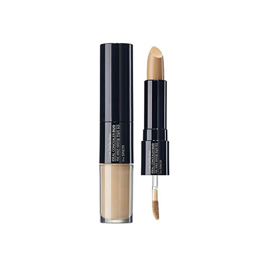 THE SAEM Cover Perfection Ideal Concealer Duo - 1.5 Natural Beige - lamisebeauty
