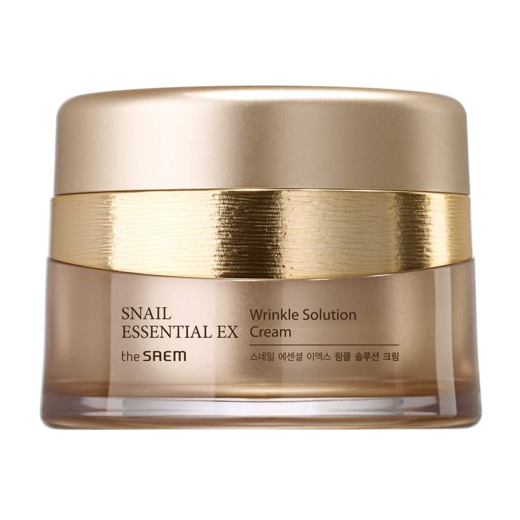 THE SAEM Snail Essential EX Wrinkle Solution Cream - lamisebeauty