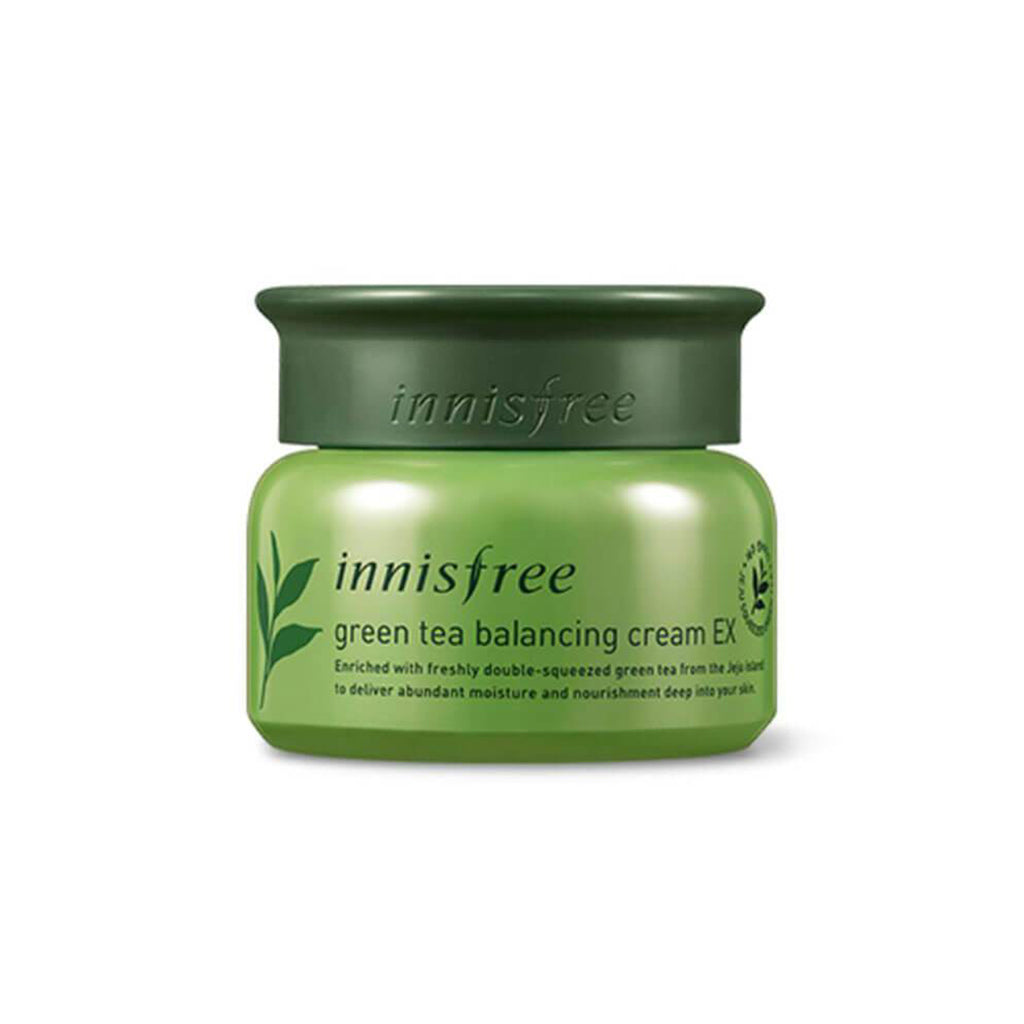 INNISFREE Green Tea Balancing Cream EX - lamisebeauty