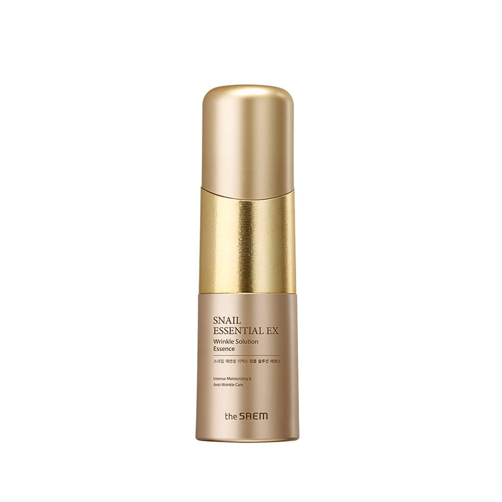 THE SAEM Snail Essential EX Wrinkle Solution Essence - lamisebeauty