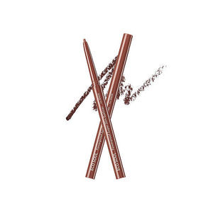 THE SAEM Eco Soul Powerproof Super Slim Eyeliner - BR02 RedBrown