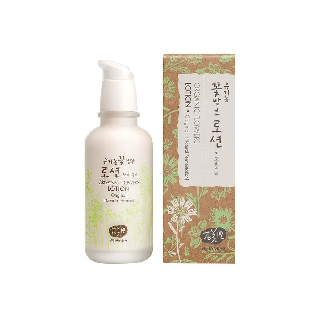 WHAMISA Organic Flowers Lotion - Original