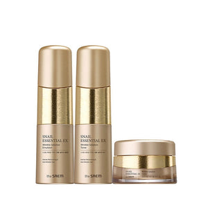 THE SAEM Snail Essential EX Wrinkle Solution Skin Care 2 Set