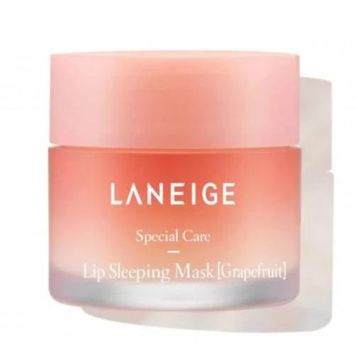 LANEIGE Lip Sleeping Mask Grape Fruit - lamisebeauty