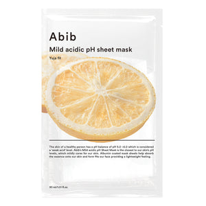 ABIB Mild Acidic pH sheet Mask Yuja Fit