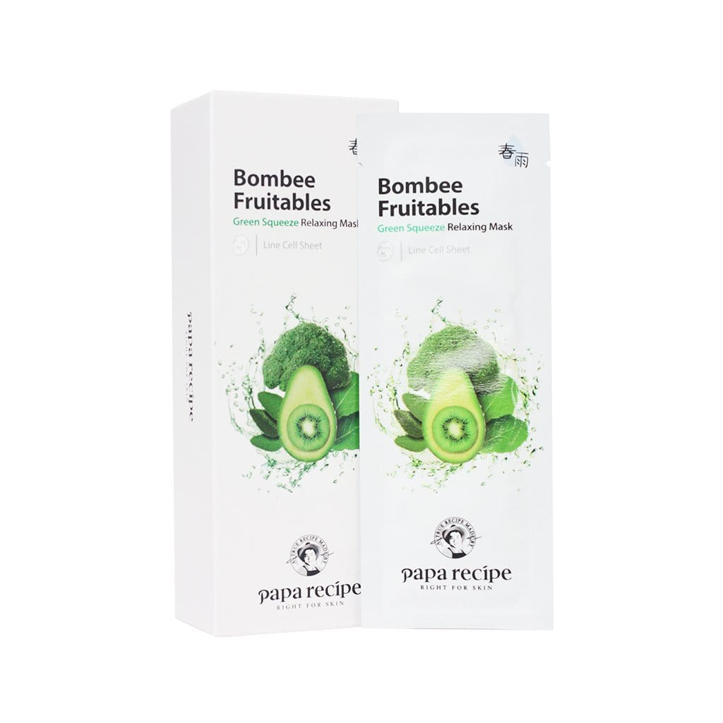 PAPA RECIPE Bombee Fruitables Green Squeeze Relaxing Mask - lamisebeauty