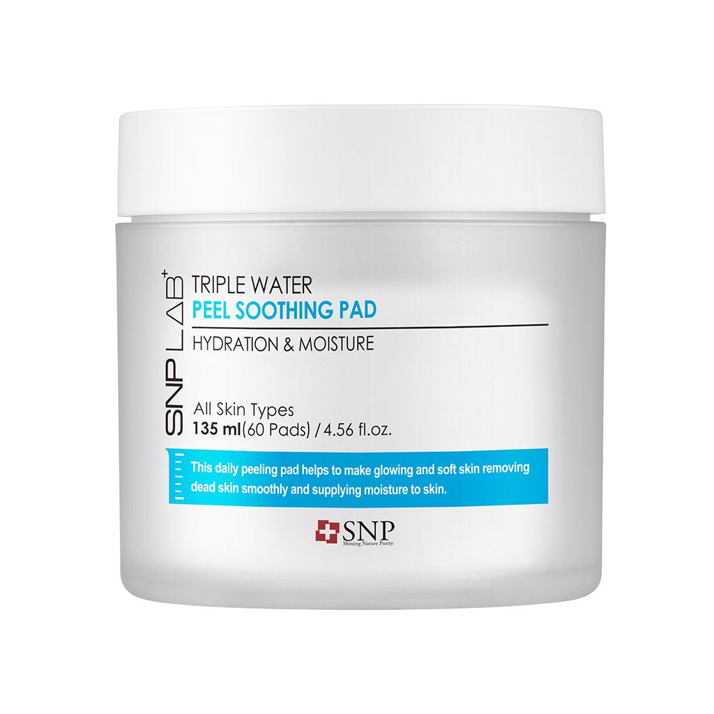 SNP Lab+ Triple Water Peel Soothing Pad