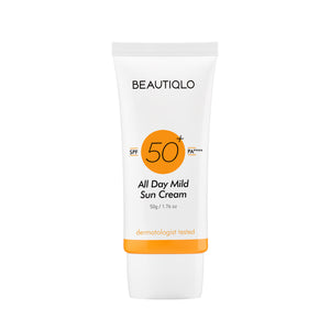 BEAUTIQLO All Day Mild Sun Cream SPF 50+