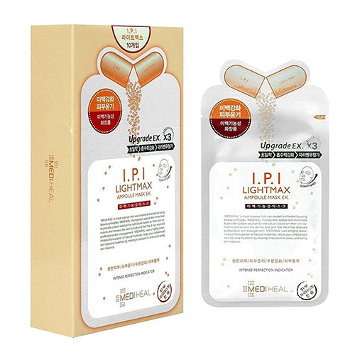MEDIHEAL I.P.I Light Max Ampoule Mask - lamisebeauty