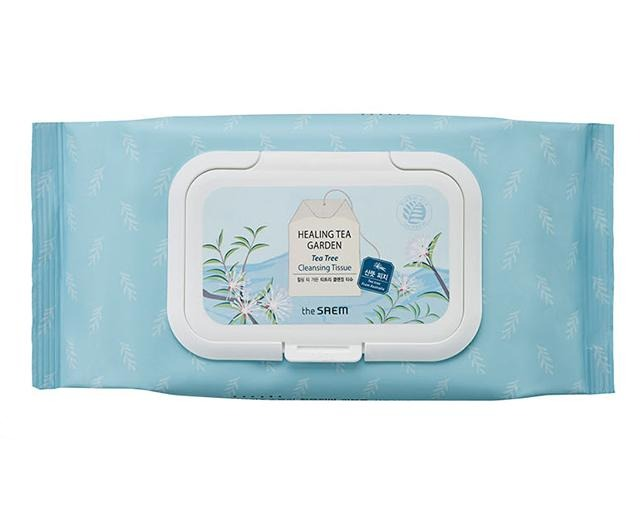 THE SAEM Healing Tea Garden Tea Tree Cleansing Tissue