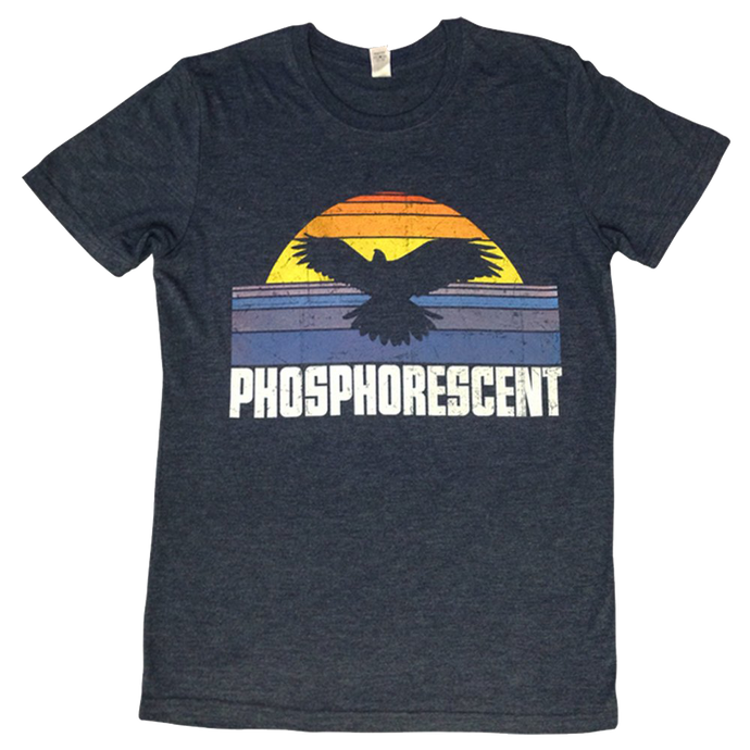 PHOSPHORESCENT - EAGLE SUNRISE TEE