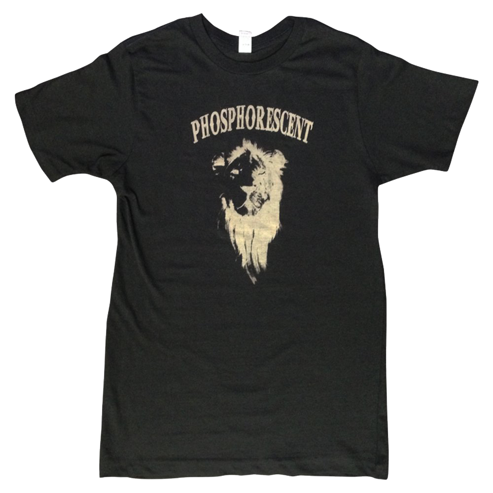 PHOSPHORESCENT - LION TEE