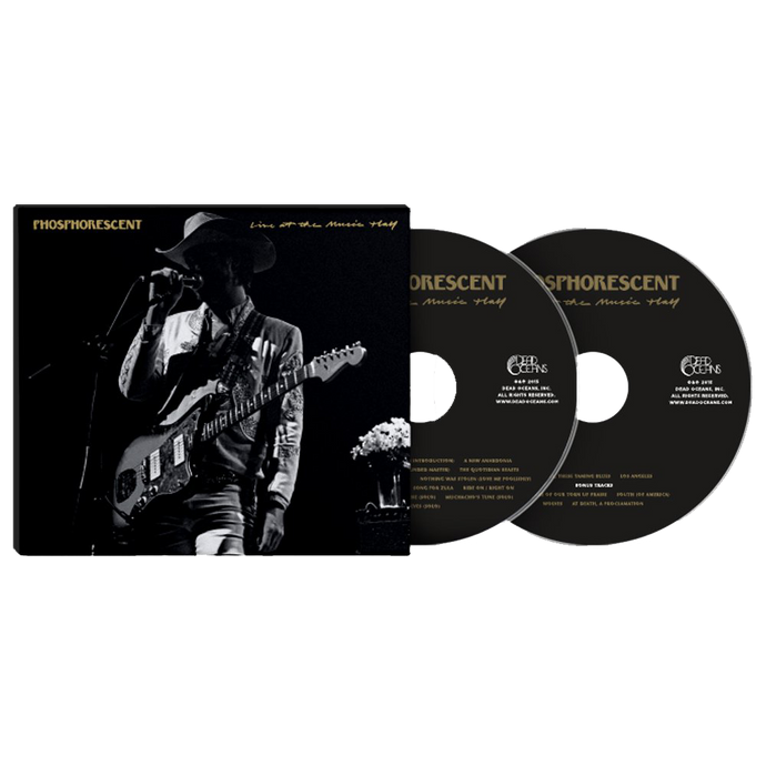 PHOSPHORESCENT - LIVE AT THE MUSIC HALL CD