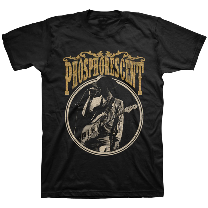 PHOSPHORESCENT - MIC GRAB TEE
