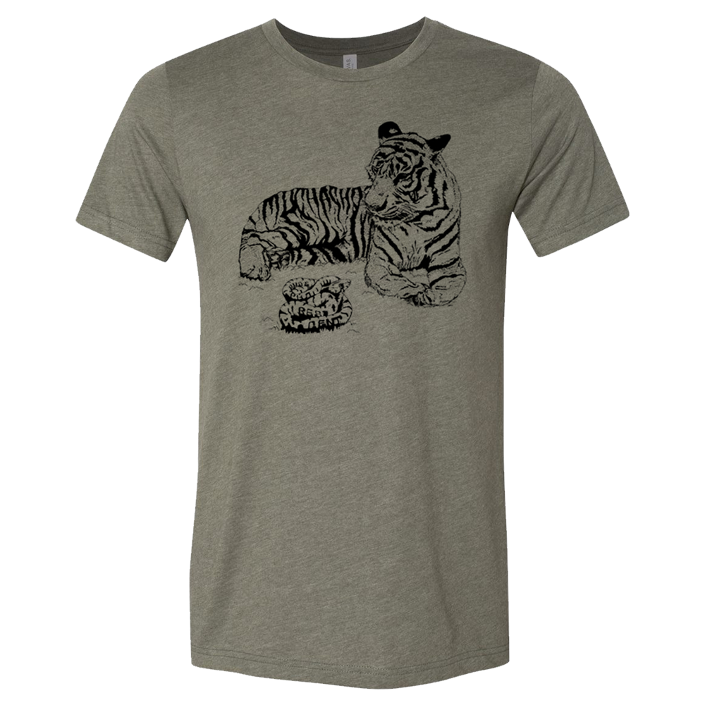 PHOSPHORESCENT - GREEN TIGER TEE