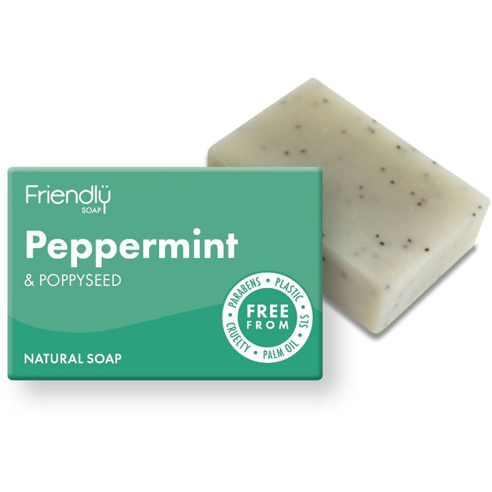 Friendly Soap | Peppermint and Poppy Seed