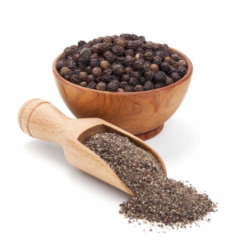 Black pepper, cracked