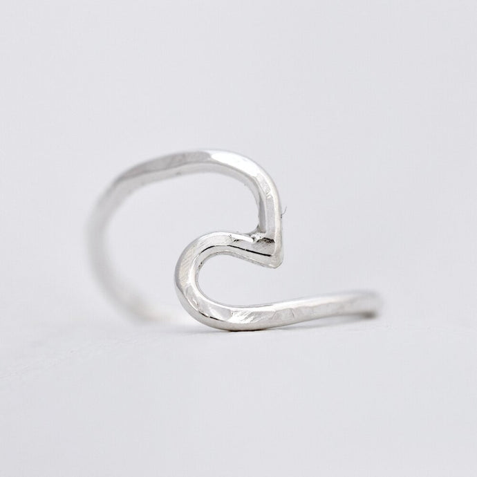 Handmade Silver Ring | Wave