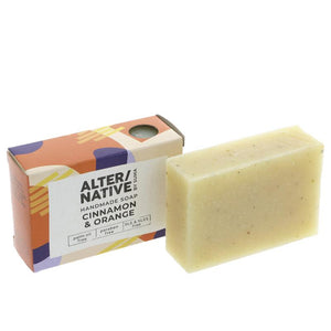 Alter/Native Soap | Cinnamon + Orange