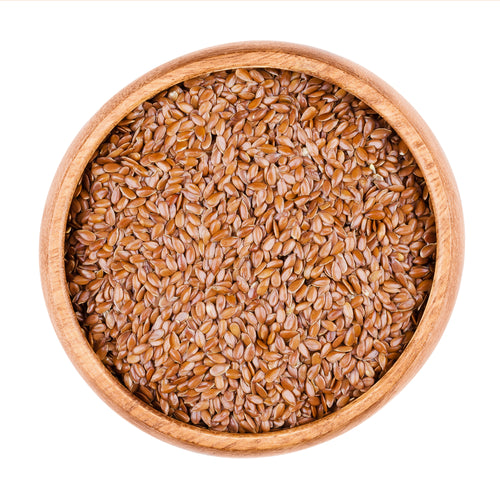 Brown flaxseed / linseed (British)