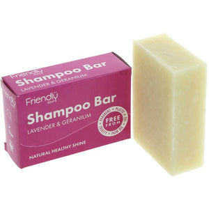 Friendly Shampoo Bar | Lavender and Geranium