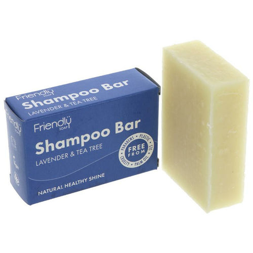 Friendly Soap Shampoo Bar – Lavender & Tea Tree