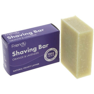 Friendly Shaving Soap | Orange and Lavender