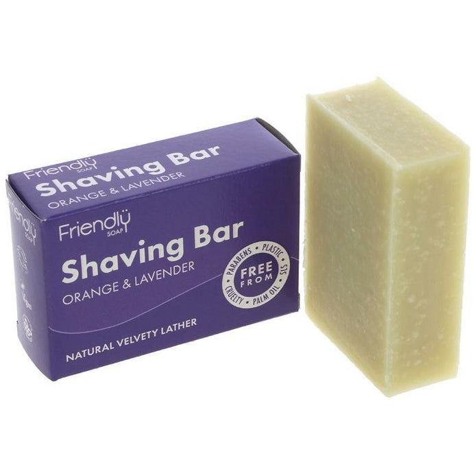 Shaving Soap – Orange and Lavender