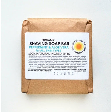 Shaving Soap | Organic | Peppermint & Aloe Vera