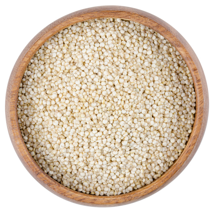 Quinoa, wholegrain, British (organic)