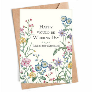 Happy Would Be Wedding Day | Lauren Jaffe
