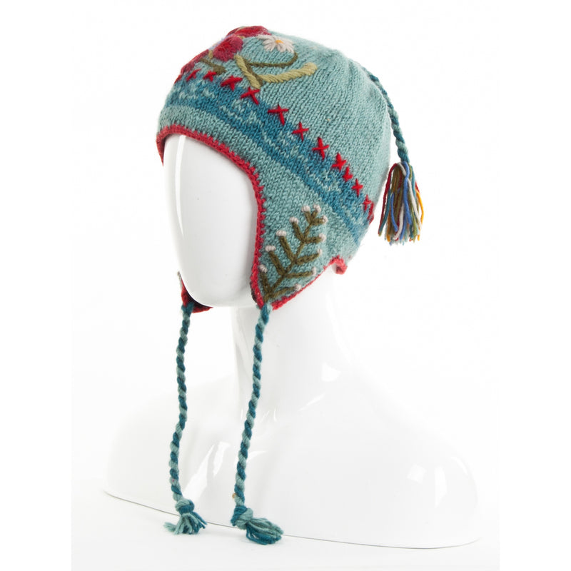 Eden earflap hat by Lost Horizons