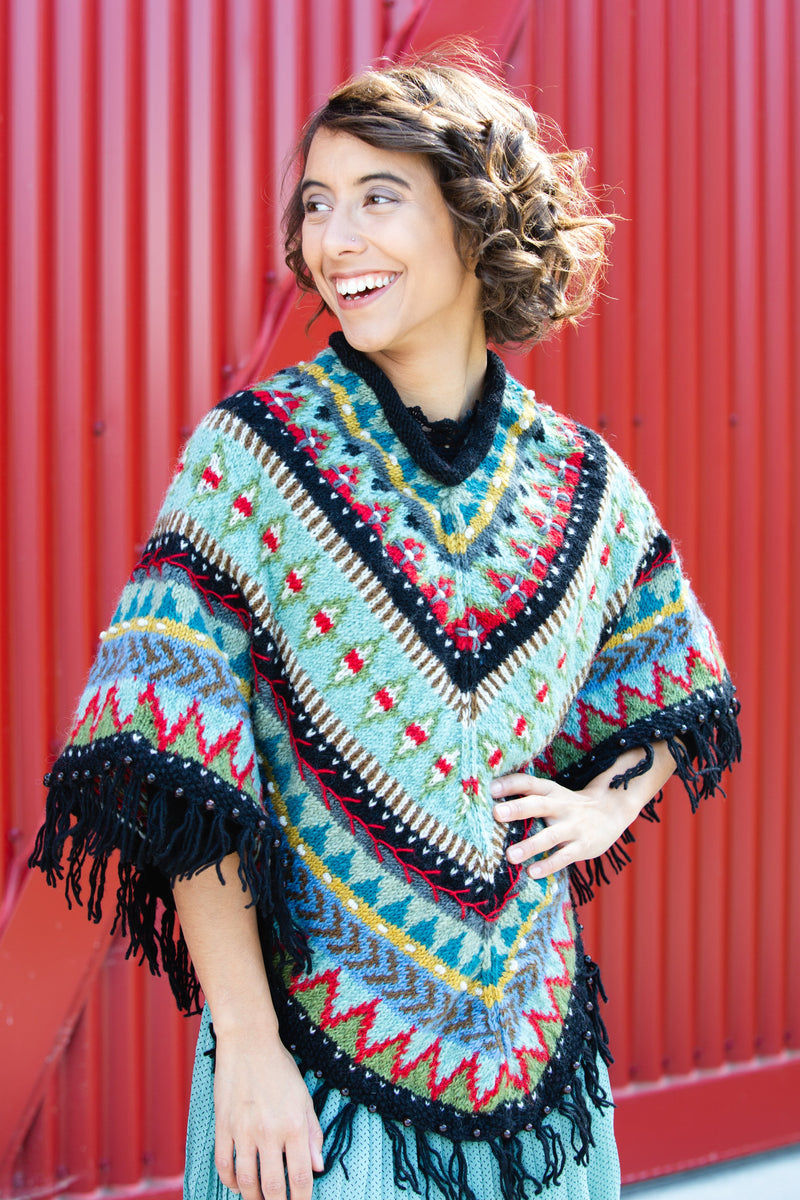 Mila Poncho by Lost Horizons