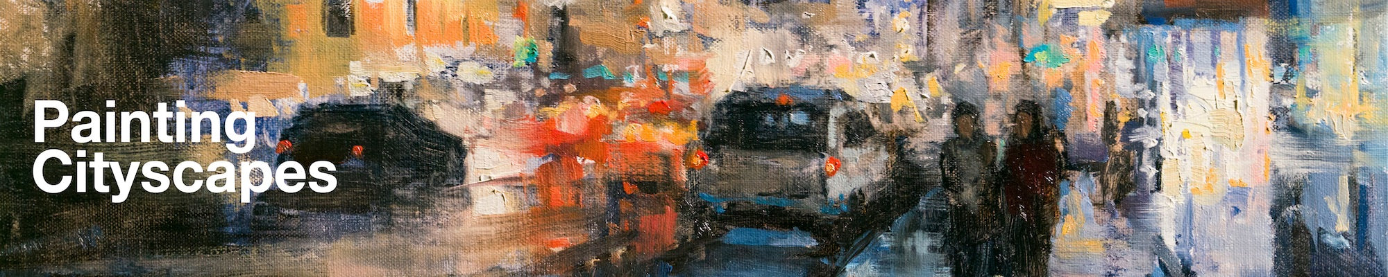 painting cityscapes