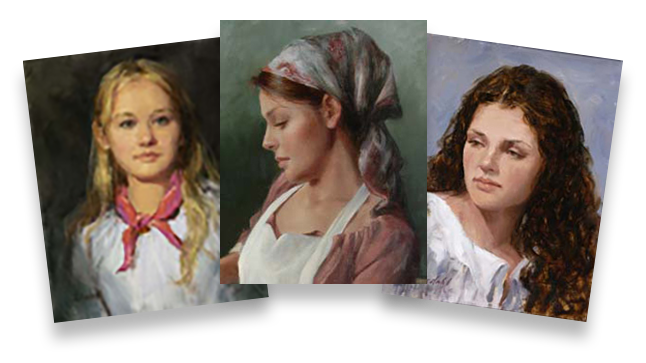 Johnnie Liliedahl: Portrait Bundle (3 Videos)