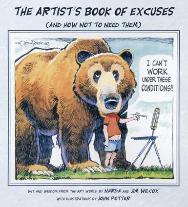 Jim Wilcox: Artist's Book of Excuses Softcover Book