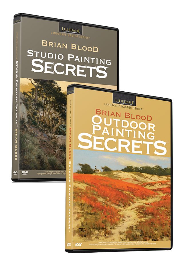 Brian Blood: Painting Secrets Bundle (2 Videos)