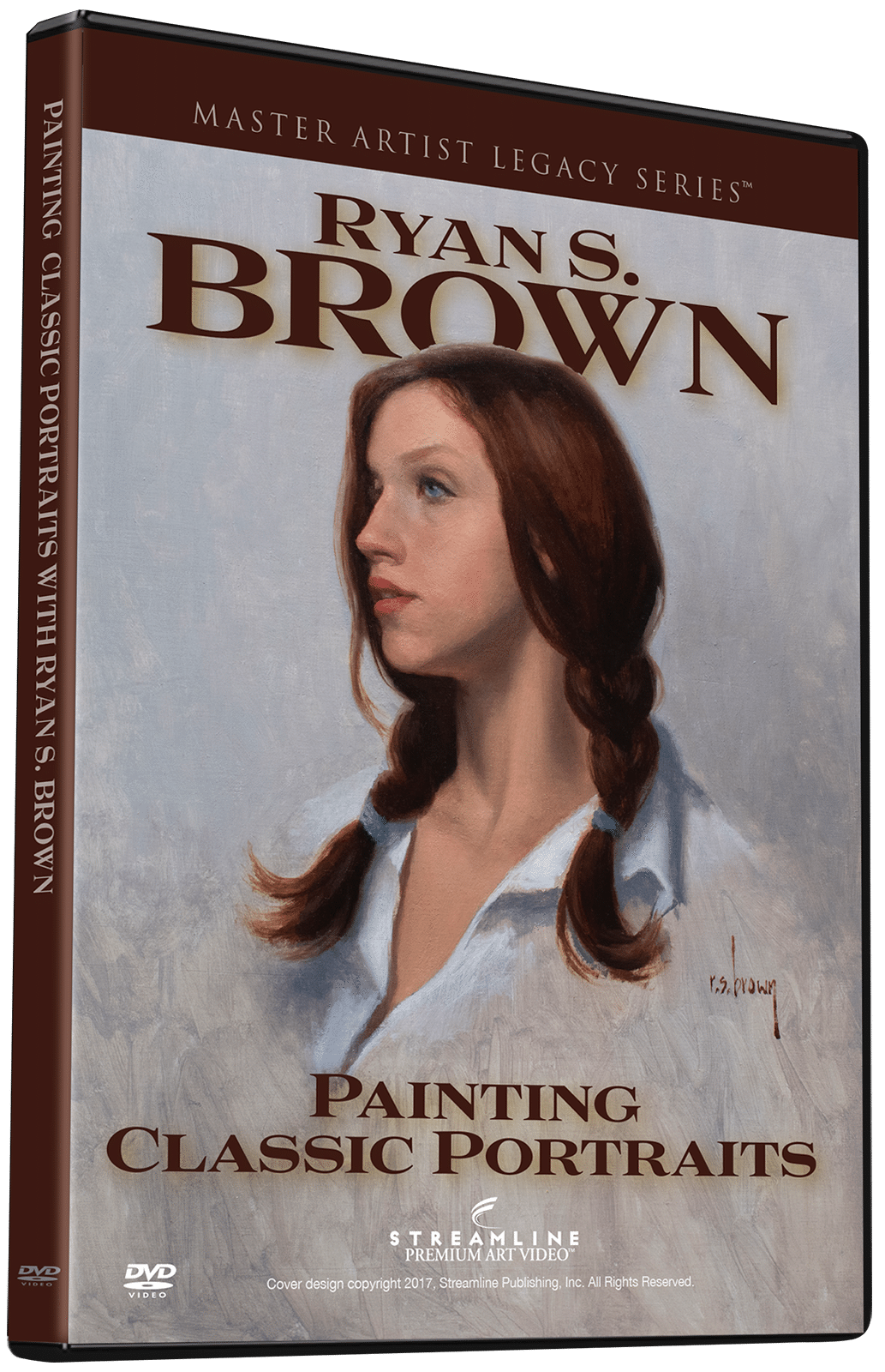 Brown Paint For Art