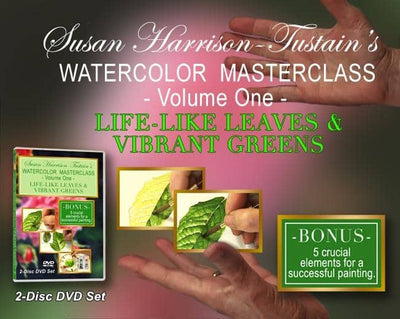 Susan Harrison-Tustain: Lifelike Leaves and Vibrant Greens
