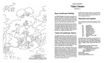 Johnnie Liliedahl: Basic Landscape Painting - Forked Path