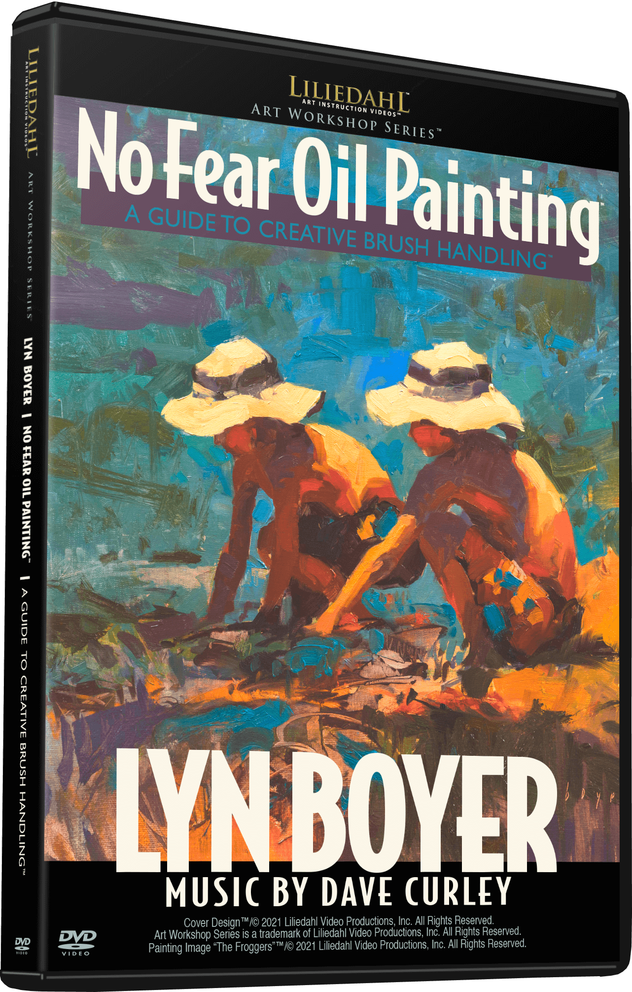 Lyn Boyer: No Fear Oil Painting