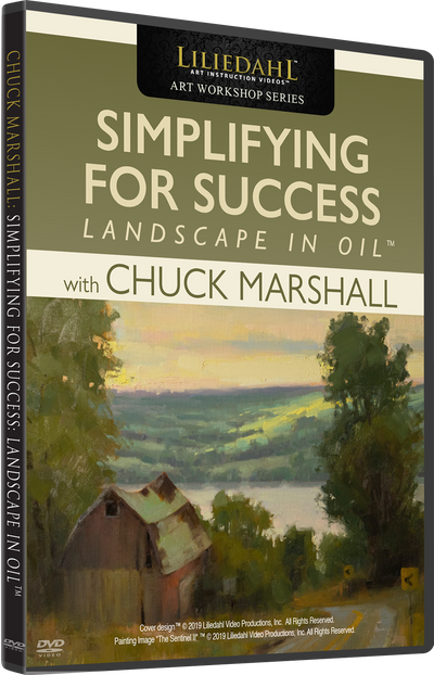 Chuck Marshall: Simplifying For Success - Landscape In Oil