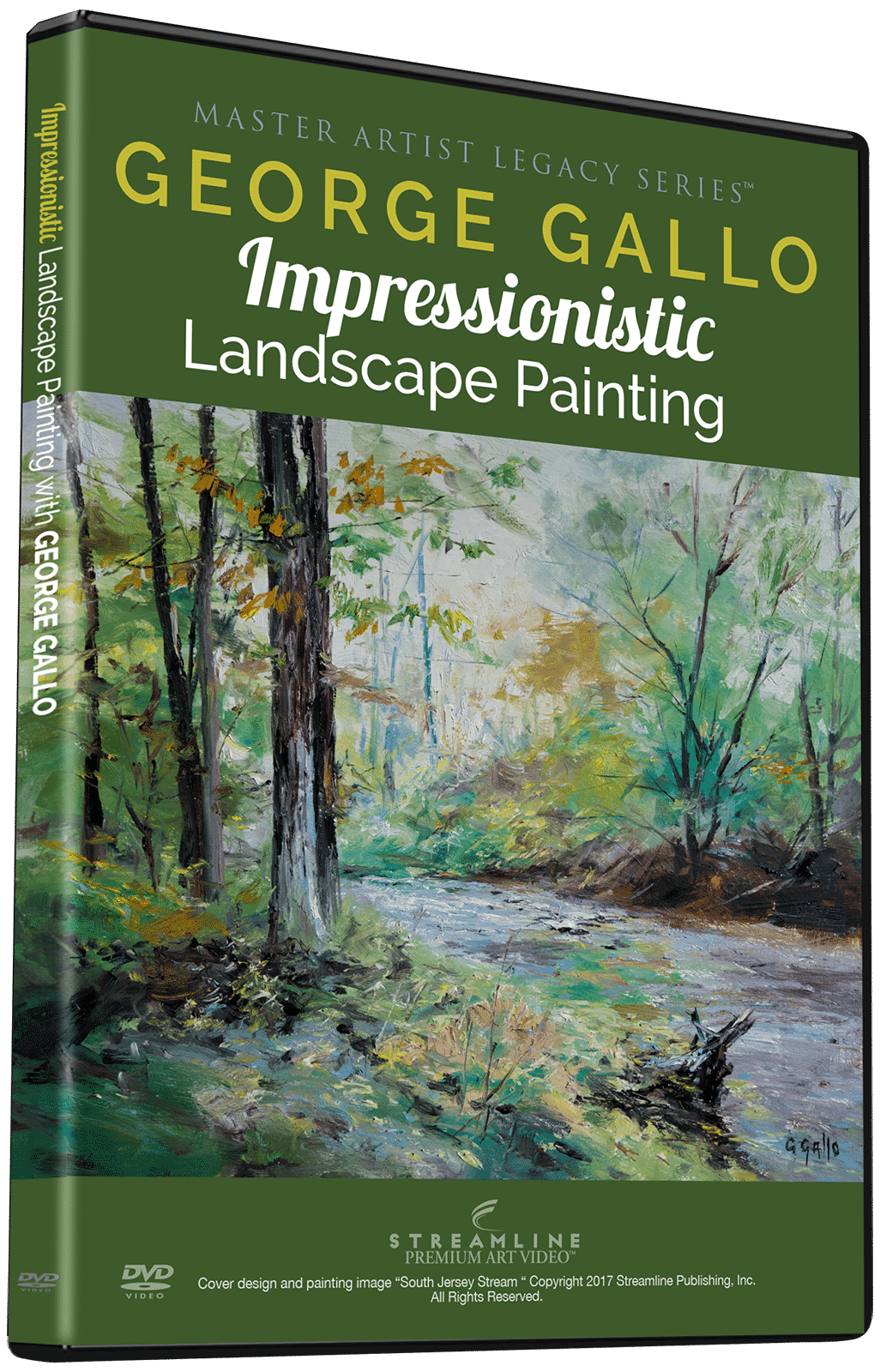 George Gallo: Impressionistic Landscape Painting
