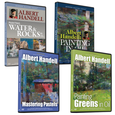 Albert Handell 4 Video Combo Set