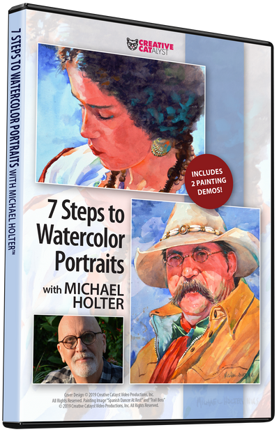 7 Steps to Watercolor Portraits with Michael Holter