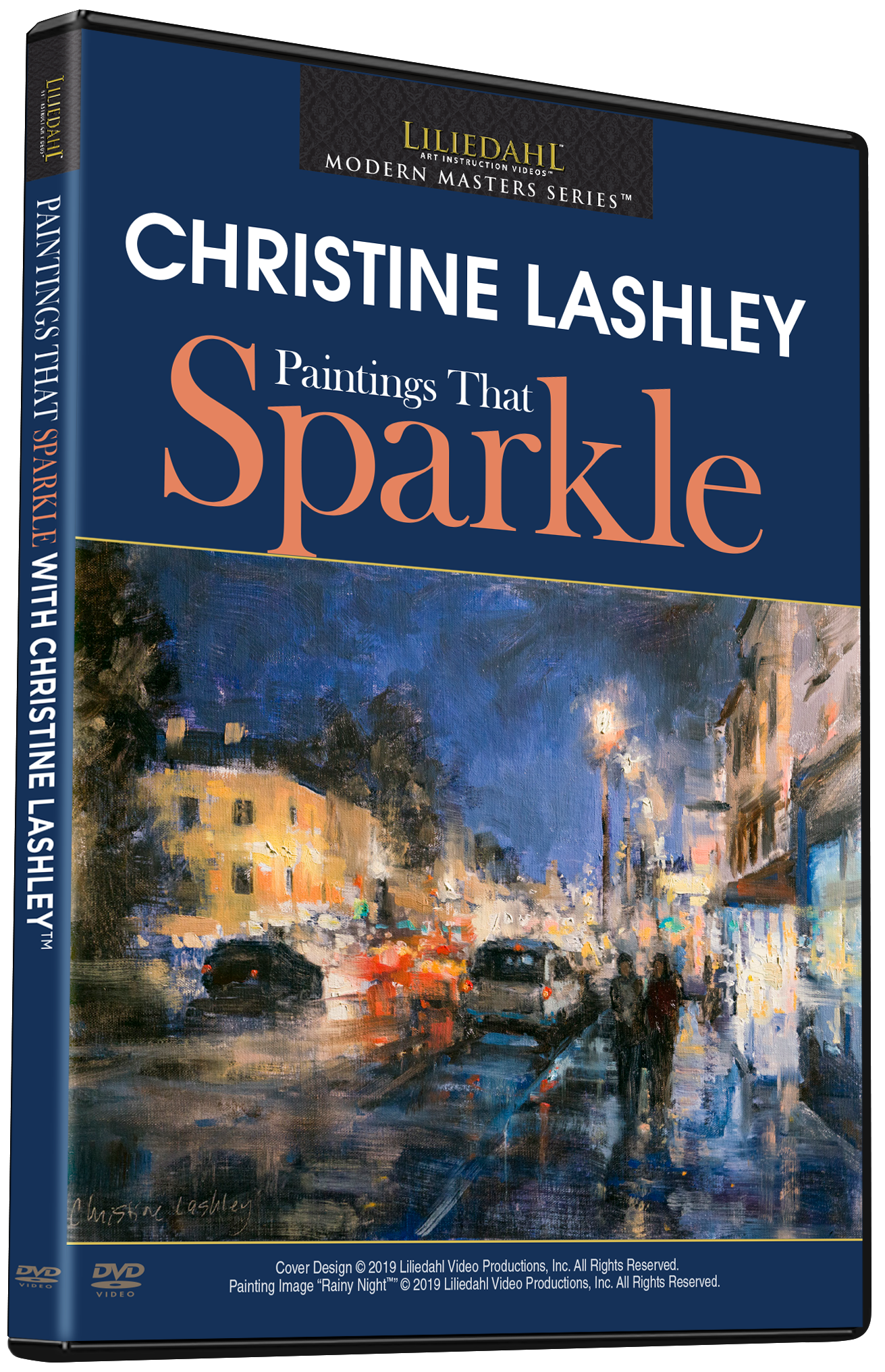 Christine Lashley: Paintings That Sparkle