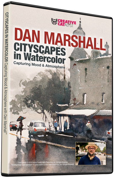 Dan Marshall: Cityscapes in Watercolor