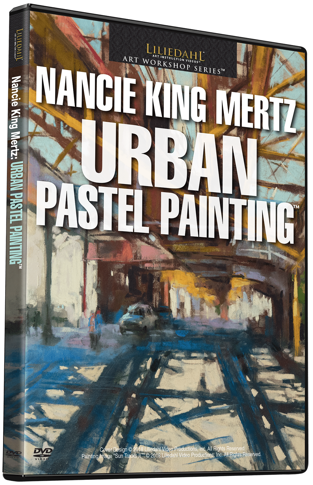 Nancie King Mertz Urban Pastel Painting