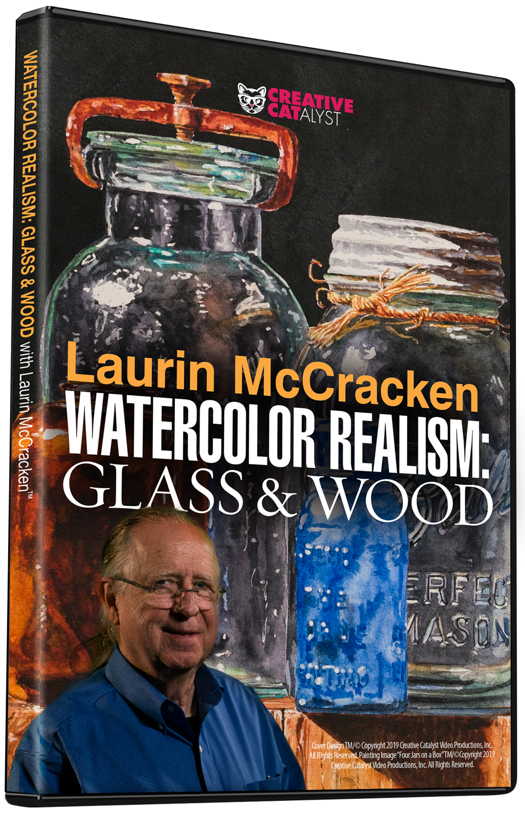 Laurin McCracken: Watercolor Realism: Glass & Wood
